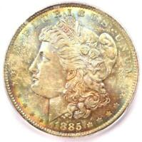 1885-O Morgan Silver Dollar $1 - Certified ICG MS67 - Rare - $1,240 Guide Value!