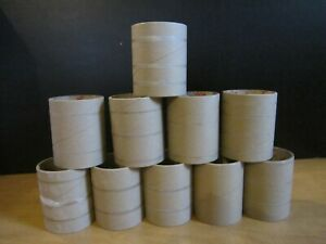 """10-Thick Heavy Duty Cardboard Tube Roll Projects & CRAFT 3.5"""" Dia.-4""""Length"""
