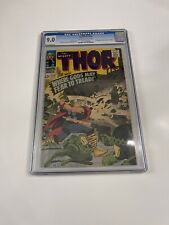 Thor #132 (Sep 1966, Marvel) CGC 9.0 First Cameo Of Ego the Living Planet