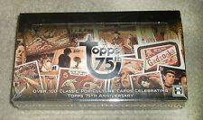 2013 Topps 75th Anniversary hobby sealed 24-pack box