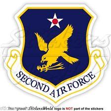 United States USAF Second AF Badge - 2nd Luftwaffe Abzeichen USAAF Aufkleber