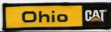 """Ohio Cat """"Caterpillar"""" dealer patch 1-1/4X5 in #404"""
