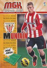 N°033 IKER MUNIAIN GONI # ESPANA ATHLETIC CLUB CARD PANINI MGK LIGA 2014