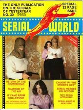 SERIAL WORLD #30 - 1982 film fanzine - THE SPIDER'S WEB, PHANTOM OF THE AIR