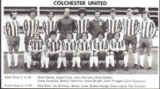 COLCHESTER UNITED FOOTBALL TEAM PHOTO>1977-78 SEASON