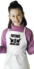 Kids Cooking Apron Future Iron Chef Aprons For Children by CoolAprons