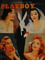Playboy February 1956 Centerfold Collector Cards 1993 Card #7 Marguerite Emprey