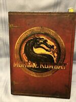 Mortal Kombat 2011 Kollector's Edition Bookends, Art Book, Strategy Guide