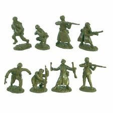 TSSD WWII RUSSIAN ARMY INFANTRY 16 Plastic Toy Soldiers 1/32 8 Poses FREE SHIP
