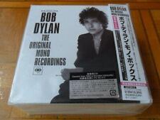 BOB DYLAN Original Mono Recordings BOX SET JAPAN MiniLP 9xCD (8 albums)