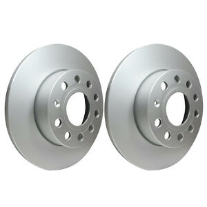 Rear Brake Discs 256mm 54211PRO fits VW GOLF MK VI 5K1 2.0 R 4motion 2.0 GTi