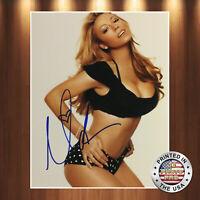 Mariah Carey Autographed Signed 8x10 Photo REPRINT