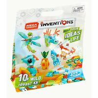 Mega Construx Inventions Wild Pack Building Set NEW Toys Kids