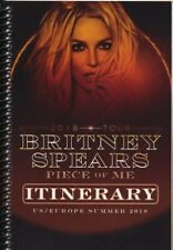 BRITNEY SPEARS - TOUR - ITINERARY - 2018 - RARE ONLY ONE!