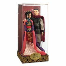 US Disney Fairytale Designer Mulan and Li Shang Dolls LE 6000 MIB!