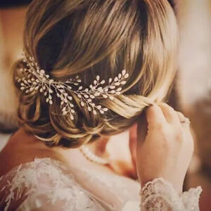 Elegant Wedding Bridal Pearl Hair Comb Headdress Women Hair Accessories Gift