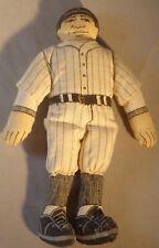 "Vintage 1979 Hallmark Soft Body Babe Ruth Doll 7"" Baseball Collectible Cute"