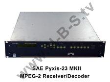 SAE Pyxis-23 MKII - MPEG-2 Receiver / Decoder
