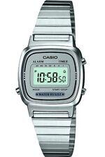 Reloj casio mujer LA670WA-7DF cronografo multifuncional - acero inoxidable