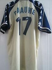 Feyenoord 2000-2001 Away Football Shirt Size Extra Large Adult Paauwe 17 /40488