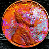 "1952 P Lincoln Wheat Penny Cent- ""Beautiful Toning"" SUPERB MS GEM BU #00"