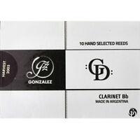 Gonzalez Bb Clarinet 'GD' Reeds Strength 3.5, Box of 10