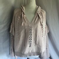 free people pullover sweater Size L NWT. Gorgeous Pullover Hoodie.