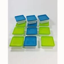12 Tiefkühldosen 0,5 Liter Gefrierboxen Vorratsbehälter Frischhaltedosen TK-Dose