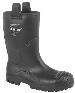 Mens Waterproof Full Safety Thermal Warm Lined Rigger Work Boots Shoes Size 7-13