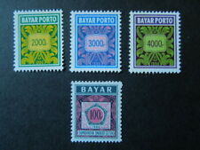G618    INDONESIA  POSTAGE  DUE 1984 +1990 2 XSET MNH