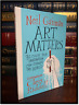 Art Matters ✍SIGNED✍ by NEIL GAIMAN New Hardback First Edition 1st Printing