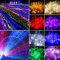 10-100M LED Starry Fairy String Light Halloween Party Waterproof Banquet Wedding