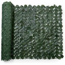Faux Ivy Privacy Fence for Patio, Balcony, and Fence (118 x 39.4 in)