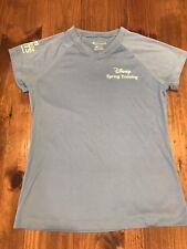 Disney Spring Training Ladies Shirt Espn Wide World of Sports Champion S Blue