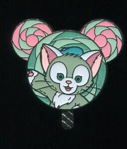 HKDL Hong Kong Lollipop Mystery Tin Collection Gelatoni Disney Pin 121080