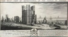 1738 Antique Print; Orford Castle, Suffolk after Buck Brothers