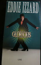 Eddie Izzard - Glorious (VHS, 1999) video cassette in very good condition.