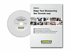 Tormek Dvd-1: Edge Tool Sharpening the Tormek Way - Set Up and Operation