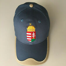 Baseball Cap Hungary Coat Embroidered Magyar NEW Adjustable Slate Blue