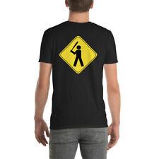 Baseball yield sign Short-Sleeve Unisex T-Shirt