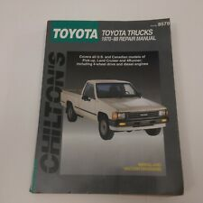 Chilton's Repair Manual Toyota Trucks 1970-1988 #8578