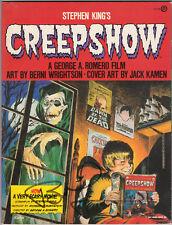 Stephen King's CREEPSHOW A George Romero Film (1982) BERNI WRIGHTSON, Signed 1st