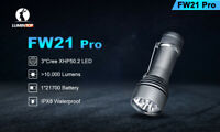 Lumintop FW21 Pro 3 CREE XHP 50.2 10,000 LUMENS EXTREMELY BRIGHT LED FLASHLIGHT