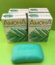 AMOHA  - 4 Pz Savon / Sapone de toilette Al Pino  100 Gr VINTAGE RARE