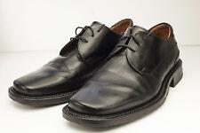 Johnston & Murphy 9 Black Oxford Dress Shoes Men Italy