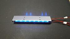 LED Police car light kit blue LED 9 flashing patterns brand new 3-12V DC input