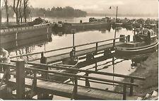 Schiffe vor der Woltersdorfer Schleuse in Flakensee, Woltersdorf b. Fürstenwalde
