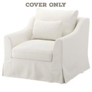 IKEA FÄRLÖV Cover for armchair, Flodafors white