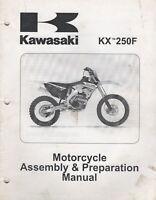 2011 KAWASAKI KX 250F ASSEMBLY & PREPARATION MANUAL 99931-1519-01 (341)
