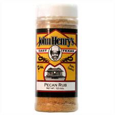 John Henry's Pecan Rub, BBQ barbeque Seasoning and Outdoor Grilling